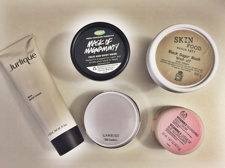 Beauty favorites of August!