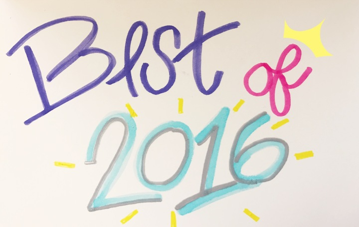 My Best of 2016 Beauty Products