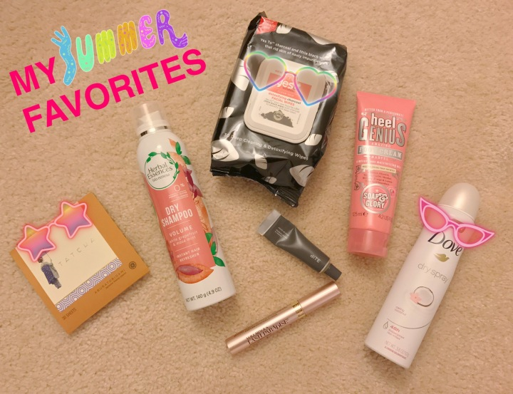 My Summer Beauty Favorites: Dove, Tatcha, Soap & Glory, Bite, Loréal and Etc.